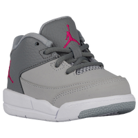 Jordan Flight Origin 3 - Girls' Toddler - Grey / Pink