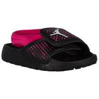Jordan Hydro 5 - Girls' Toddler - Black / White