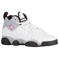 Jordan Jumpman Team II - Girls' Grade School - White / Pink