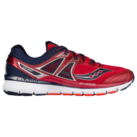 Saucony Triumph ISO 3 - Men's - Red / Navy