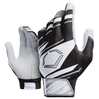 Evoshield Protective Batting Gloves 2.0 - Youth - Black / White