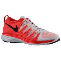 Nike Flyknit Lunar 2 - Men's - Grey / Red