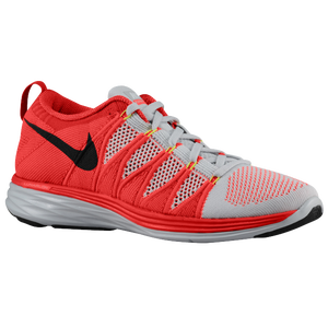 Nike Flyknit Lunar 2 - Men's - Pure Platinum/Bright Crimson/University Red/Black