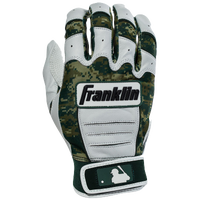 Franklin CFX Pro Batting Gloves Digi Series - Men's - White / Dark Green