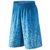 Nike Lebron Tamed AOP Shorts - Men's - LeBron James - Light Blue / Light Blue