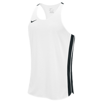 Nike Team Anchor Singlet - Men's - White / Black