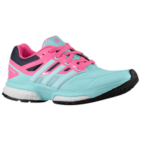 adidas Response Boost - Girls' Grade School - Light Blue / Pink