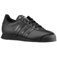 adidas Originals Samoa - Boys' Preschool - All Black / Black