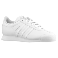 adidas Originals Samoa - Boys' Grade School - All White / White