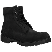 "Timberland 6"" Single Sole Boots - Men's - All Black / Black"