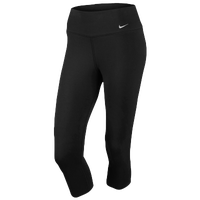 Nike Legend 2.0 Tight Dri-Fit Cotton Capri - Women's - All Black / Black