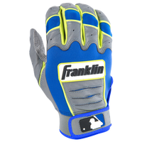 Franklin CFX Pro Batting Gloves - Men's - Grey / Blue