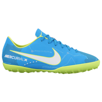 Nike Mercurial Vapor XI TF - Boys' Grade School - Light Blue / White