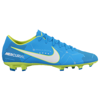 Nike Mercurial Victory VI FG - Men's - Light Blue / White