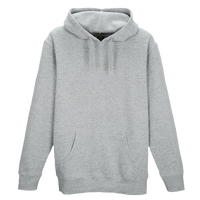 Eastbay Core Fleece Hoodie - Men's - Grey / Grey