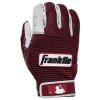 Franklin Pro Classic Batting Gloves - Men's - Maroon / White