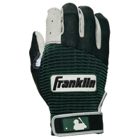 Franklin Pro Classic Batting Gloves - Men's - Dark Green / White