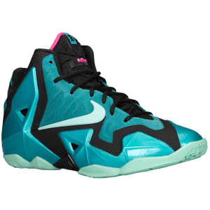 Nike LeBron 11 - Boys' Grade School - Sport Turquoise/Medium Mint/Black