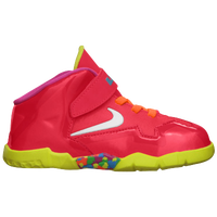 Nike LeBron XI - Boys' Toddler - Red / White