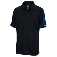 Eastbay EVAPOR Team Performance Polo - Men's - Black / Blue