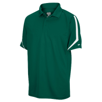 Eastbay EVAPOR Team Performance Polo - Men's - Dark Green / White