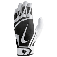 Nike Huarache Edge Batting Gloves - Grade School - White / Black