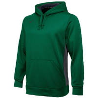 Nike Team KO Hoody - Men's - Dark Green / Grey