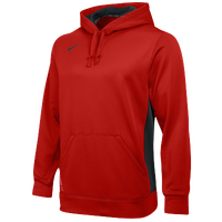 Nike Team KO Hoodie - Men's - Red / Grey