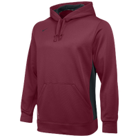 Nike Team KO Hoody - Men's - Maroon / Grey