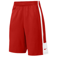 Nike Team League Practice Shorts - Men's - Red / White