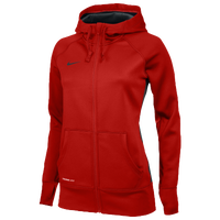 Nike Team Full Zip KO Hoodie - Women's - Red / Red