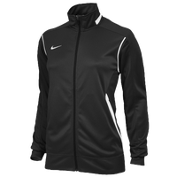 Nike Team Enforcer Warm-Up Jacket - Women's - Black / White
