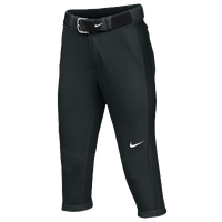 Nike Team Vapor Pro 3/4 Pants - Women's - All Black / Black