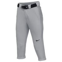 Nike Team Vapor Pro 3/4 Pants - Women's - Grey / Grey
