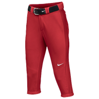 Nike Team Vapor Pro 3/4 Pants - Women's - Red / Red