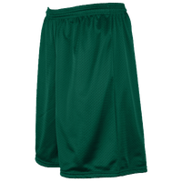 Eastbay Team PE Shorts - Dark Green / Dark Green