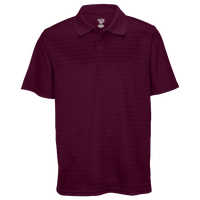 Eastbay EVAPOR Team Performance Polo 2.0 - Men's - Maroon / Maroon