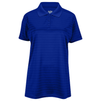 Eastbay EVAPOR Team Performance Polo 2.0 - Women's - Blue / Blue