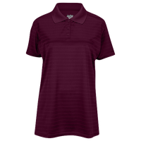 Eastbay EVAPOR Team Performance Polo 2.0 - Women's - Maroon / Maroon