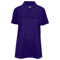 Eastbay EVAPOR Team Performance Polo 2.0 - Women's - Purple / Purple