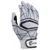 Cutters Lead Off 2.0 Batting Gloves - Men's - White / Black