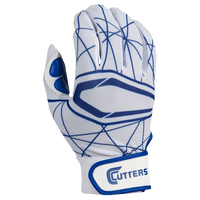 Cutters Lead Off 2.0 Batting Gloves - Men's - White / Blue