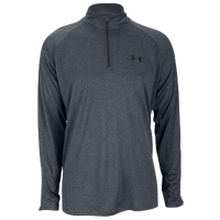 Under Armour Lightweight Tech 1/4 Zip L/S T-Shirt - Men's - Grey / Grey