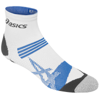 ASICS® Kayano Quarter Socks - White / Light Blue