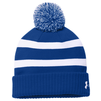 Under Armour Team Pom Beanie - Blue / White