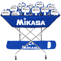 Mikasa Hammock 24 Ball Cart - Blue / White