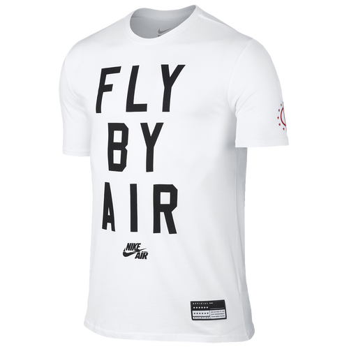 Nike air fly by t shirt men 39 s casual clothing for Nike air shirt men