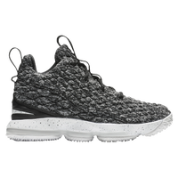 Nike LeBron 15 - Boys' Preschool -  Lebron James - Black / White