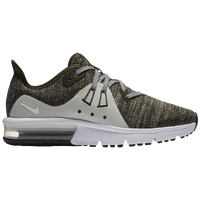 Nike Air Max Sequent 3 - Boys' Grade School - Olive Green / White