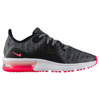Nike Air Max Sequent 3 - Girls' Grade School - Black / Pink